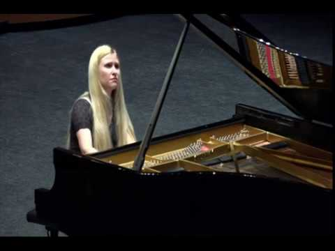 S. V. Rachmaninoff. Étude-tableaux op. 39, no. 2 in a minor. A. Naplekova, piano